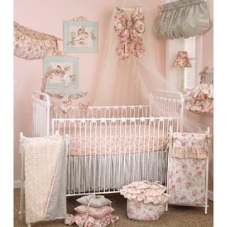 Floral Crib Bedding Set Tea Party 7-piece Set|https://ak1.ostkcdn.com/images/products/8608343/P15876581.jpg?_ostk_perf_=percv&impolicy=medium