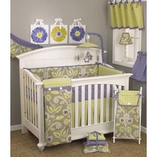 Cotton Tale Periwinkle 7-piece Crib Bedding Set