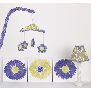 Cotton Tale Periwinkle Nursery Decor Kit