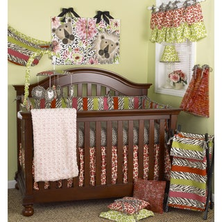 Cotton Tale Here Kitty Kitty 8-piece Crib Bedding Set