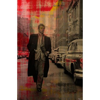 Parvez Taj 'James Dean - 2324' Canvas Art