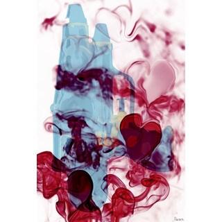 Parvez Taj 'Love Hate' Canvas Art