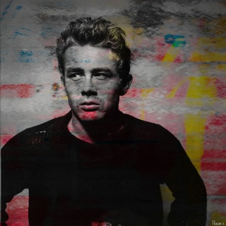 Parvez Taj 'James Dean - Torn' Canvas Art