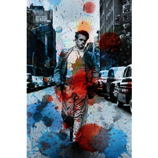 Parvez Taj 'James Dean NYC' Canvas Art