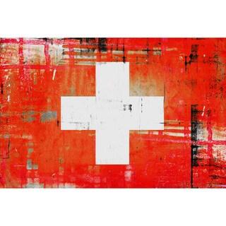 Parvez Taj 'Swiss' Canvas Art