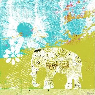 Parvez Taj 'Udaipur' Canvas Art