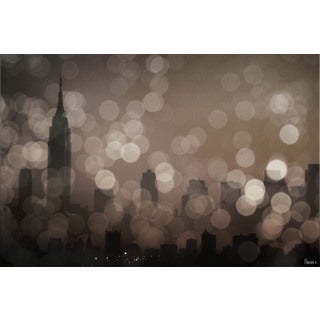 Parvez Taj 'NY Sleeping' Canvas Art