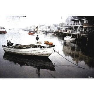 Parvez Taj 'Still Dock' Canvas Art