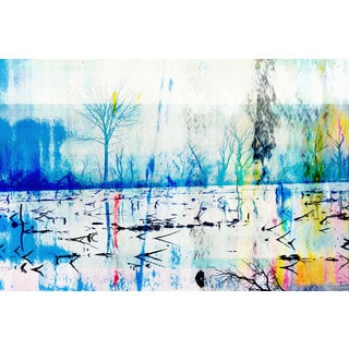 Parvez Taj 'Morrison Lake' Canvas Art