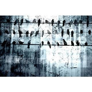 Parvez Taj 'Out of Line' Canvas Art