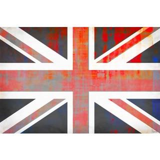 Parvez Taj 'Union Jack' Canvas Art