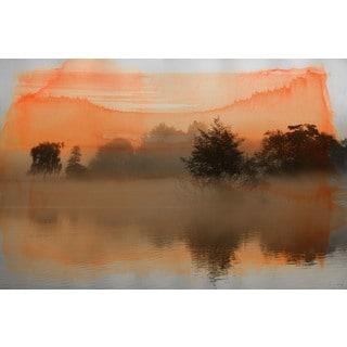 Parvez Taj 'Clear Water' Canvas Art
