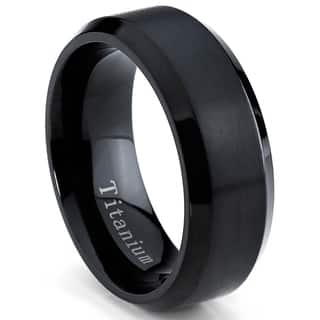 item steel fashion titanium rings design black engagement men ring wedding punk brief jewellery stainless
