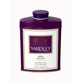 Yardley Of London April Violets Women's 7.0-ounce Perfumed Talc