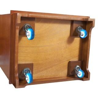 Cabinet Casters Set (Set of 4)