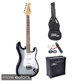 Pyle Beginner Electric Guitar Package (4 options available)
