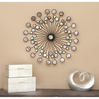 Abstract Metal Wall Decor