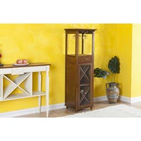 Glenview Wine Bottle and Glass Storage Cabinet