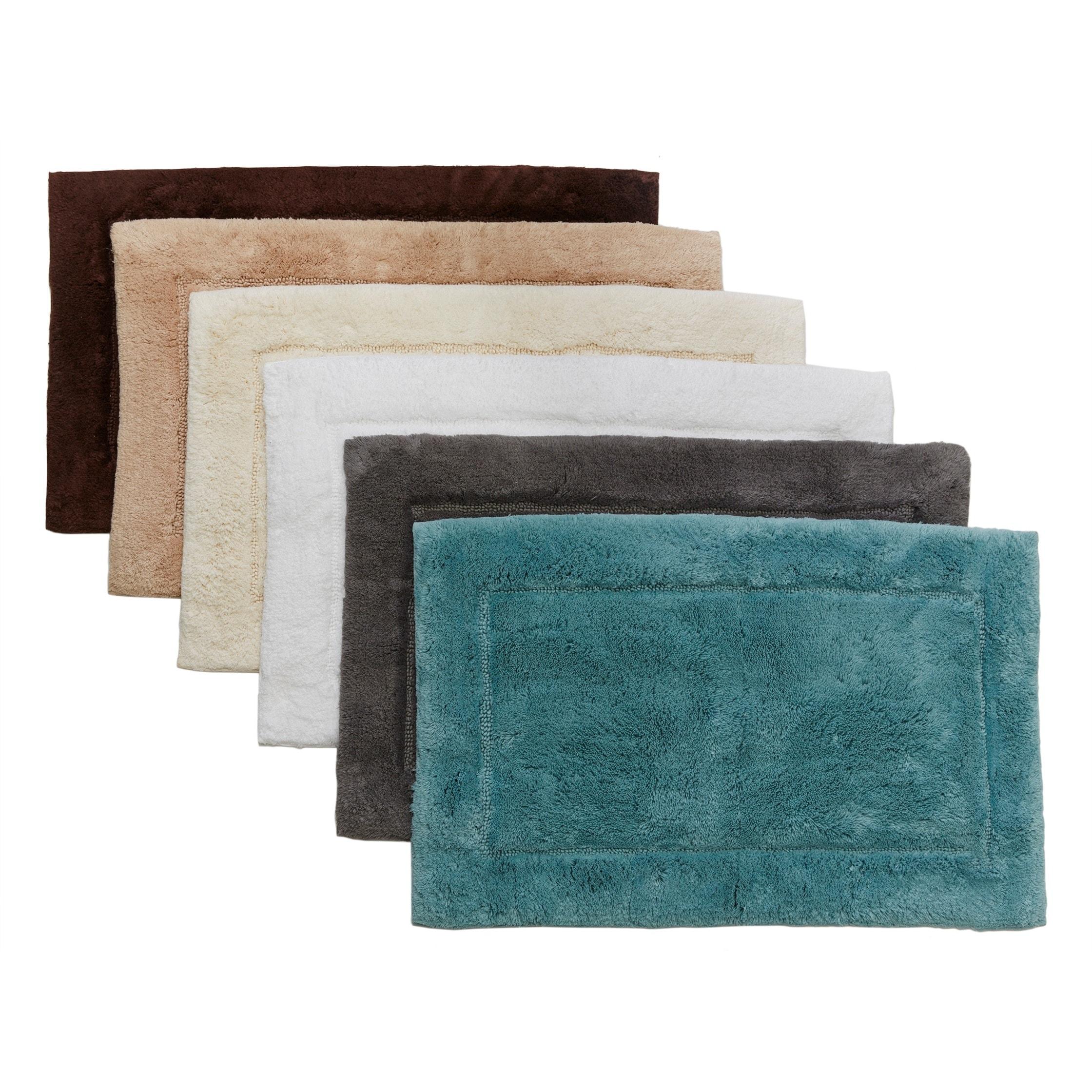 hygrosoftwelspun cotton 21 x 34 bath rug | ebay