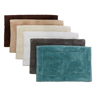 HygroSoft by Welspun 100 Cotton Bath Rug (multiple sizes available)