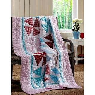 Piper Cotton Quilted Throw Blanket
