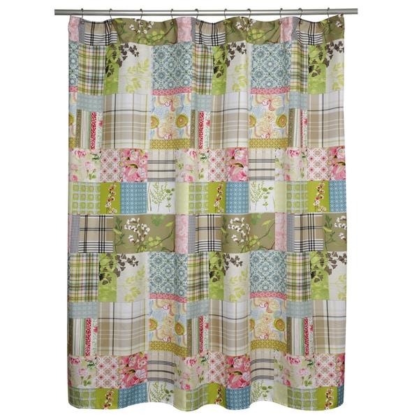 Shop Kaluwa Patchwork Shower Curtain
