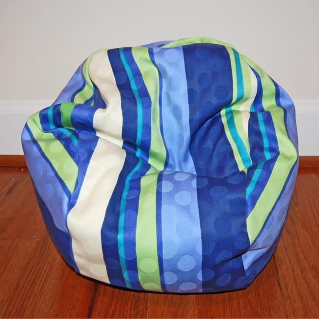Ahh Products 14-Inch Marina Stripes LiL Me Bean Bag Chair...