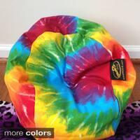 Ahh Products LiL Me Tye Dye 14-inch Doll Bean Bag Chair