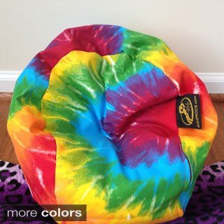 Ahh Products LiL Me Tye Dye 14-inch Doll Bean Bag Chair
