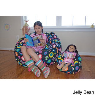 Ahh Products LiL Me Bubbly 14-inch Doll Bean Bag Chair
