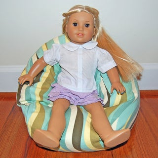 Ahh Products LiL Me Wavelength 14-inch Doll Bean Bag Chair