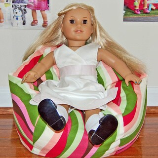 Ahh Products LiL Me Wavelength 14-inch Doll Bean Bag Chair