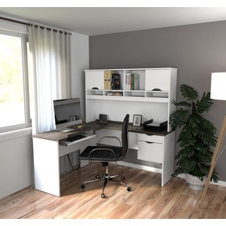 Bestar Innova L-shaped Desk
