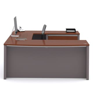 Link to Bestar Connexion U-shaped Workstation Desk Kit Similar Items in Desks & Computer Tables