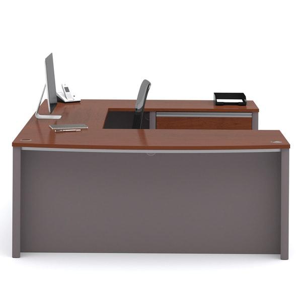 Bestar Connexion U-shaped Workstation Desk Kit. Opens flyout.