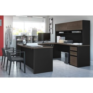 Bestar Connexion U-shaped Workstation Desk Kit