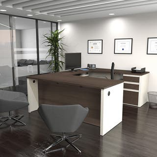Bestar Pro Linea U Desk Free Shipping Today Overstock