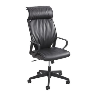 Safco Priya Leather High Back Executive Chair