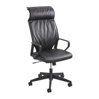 Safco Priya Leather High Back Executive Chair
