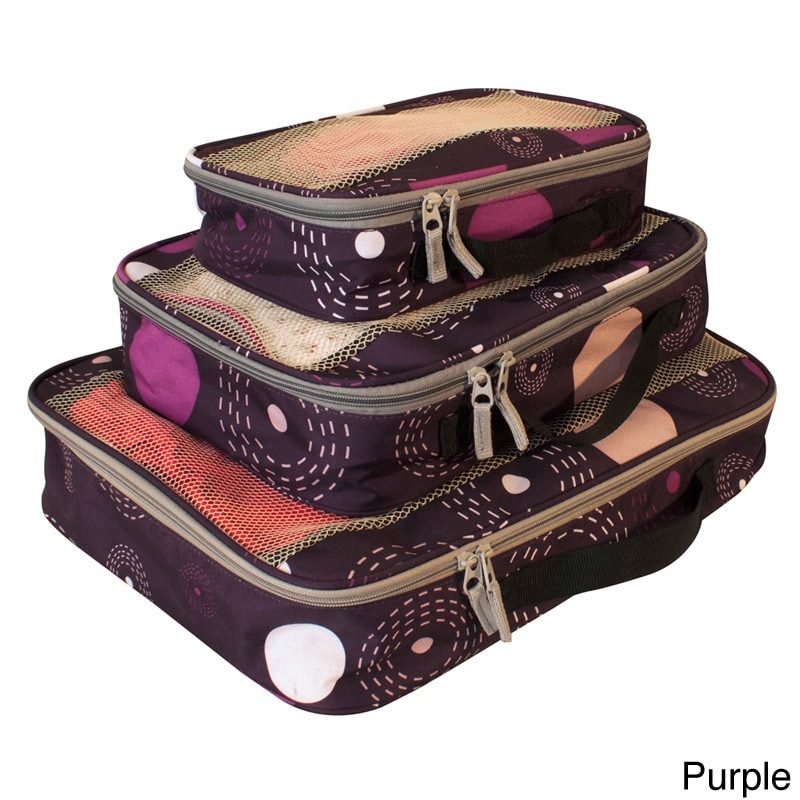 American Flyer Fireworks Perfect Packing Cube 3-piece Set...