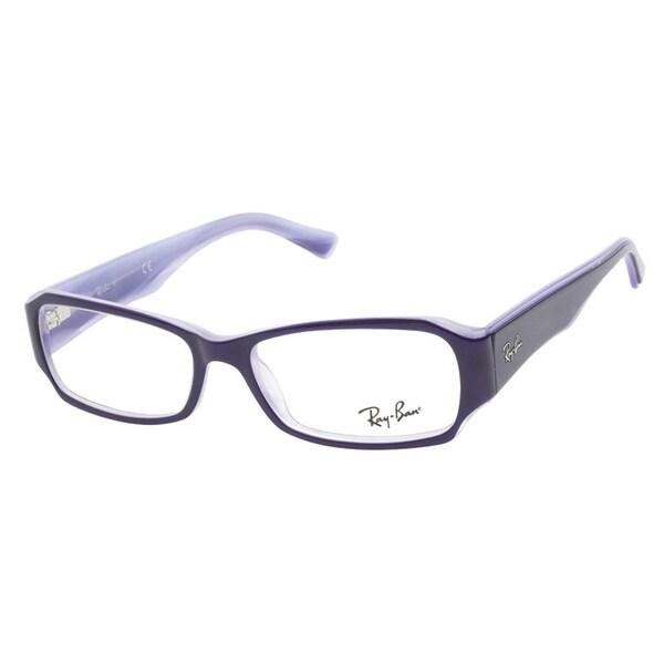 3d231ca918f ... denmark ray ban rb5168 2390 purple prescription eyeglasses 2033a dd0ff