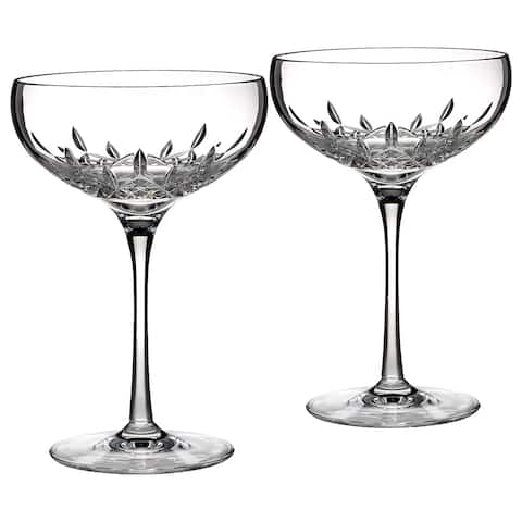 Waterford Lismore Essence Champagne Saucer (Set of 2)