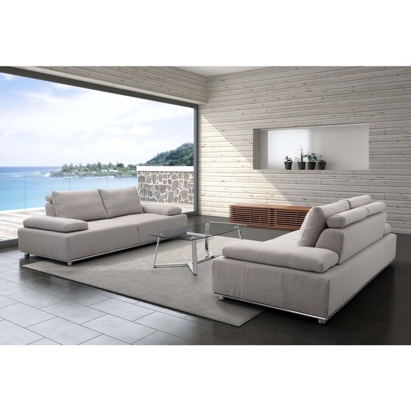 Drammen Sand Color Modern Sofa Free Shipping Today