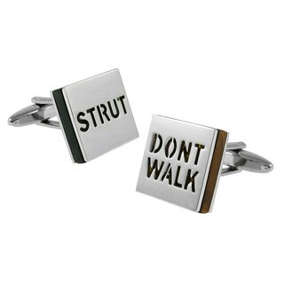 Cuff-Daddy 'Strut Don't Walk' Cuff Links
