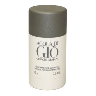 Giorgio Armani Acqua Di Gio Men's Deodorant Stick 2.6-ounce Alcohol-free