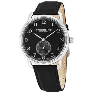 Stuhrling Original Men's Decor Swiss Quartz Strap Watch|https://ak1.ostkcdn.com/images/products/8610871/P15878402.jpg?impolicy=medium