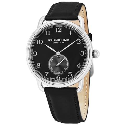 Stuhrling Original Men's Decor Swiss Quartz Strap Watch