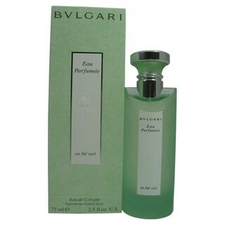 Bvlgari Eau Parfumee Women's 2.5-ounce Cologne Au The Vert Spray