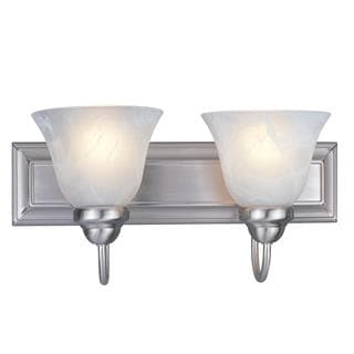 Z-Lite 2-light Brushed Nickel Vanity