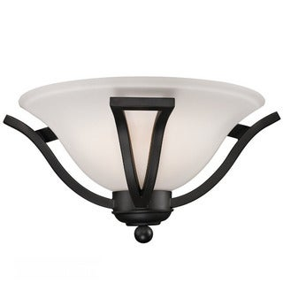 Avery Home Lighting 1-light Black Matte Wall Sconce